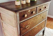 oak furniture makeovers