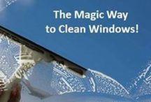 para limpiar ventanas