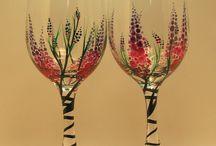 üveg festés