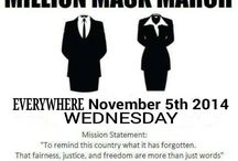 Million Mask March / Images Relating To The Million Mask March