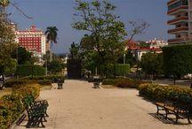 Calle Línea / La Calle Línea es una de las más importantes de El Vedado y la primera que se trazó en esa barriada, a finales del siglo XIX. / by Paseos por La Habana