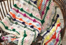 Crochet/Afghans and Blankets / by Cheryl Mook
