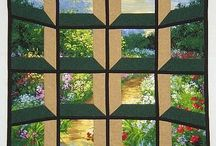 Attic windows quilts