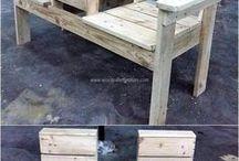en bois de palette