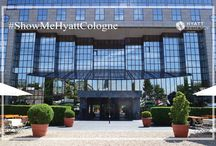 #ShowMeHyattCologne / During the next couple of days we will take you on an adventure through our hotel. We will check you in, serve you breakfast and show you a relaxing time at Puls Fitness Club & Spa. Get excited!