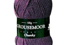 Cygnet Grousemoor Chunky / Cygnet Grousemoor Chunky is an incredibly soft chunky yarn, due to its wool & premium acrylic blend.  It comes in a lovely range of traditional and modern shades.  Ideal for those quick to knit projects for all the family.  It is machine washable.