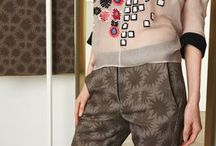 fashion | runways pre-fall 2015 / interesting pieces. style, color, pattern, prints