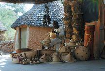 Les Camerounais sont beaux ! / Découvrez la vie du quotidien des Camerounais, artisanat au Cameroun, Les enfants au Cameroun