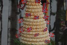 Kaker Norwegian cakes