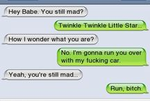 Funny text messages / I love looking at these