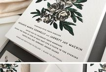 Wedding Stationery / Wedding stationery ideas for modern, vintage, rustic, woodland or traditional with a twist.  #weddingstationery #stationery #luxurywedding #weddingideas www.fabuloustogether.co.uk