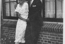 jaren 20 30 40 - 50 / familie Valentijn en van der Meer. Rijswijk en Voorschoten