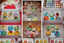 Impressionen Cupcake Workshops / Hast du gern Cupcakes? Hier sind Fotos vom Workshops by Lealu-Sweets.