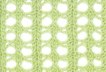 Estonian Lace / These stitches are featured in the Estonian Lace category in both the Master and the Gold versions of the Pick-A-Stitch Digital Knitting Stitch Collections. / by Pick-A-Stitch on Pinterest