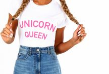 Unicorn Crazy / Always be yourself, unless you can be a unicorn! We're crushin' over everything unicorn atm and these are some of our absolute favs