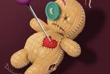Voodoo Dolls / by Kelly Barone, CZT®