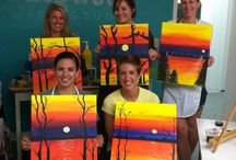 Wine and painting party