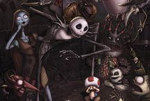 Creepypasta / Tim Burton style ♥ , creepypasta,  gore, personajes...
