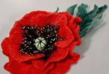 FELT STUFF & NEEDLE FELTING / by Elaine Howard
