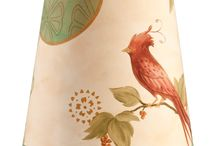 Replacement Lamp Shades / These lampshades are made on archival giclée paper in a wide variety of patterns. All of our lampshades are signed, dated, and hallmarked by the artist. Accommodates incandescent, CFL, and LED bulbs. Made in the USA.