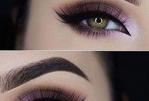 inspiring eyes/make up