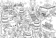 ✄ {Printable} Coloriages ✄