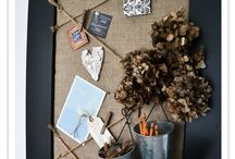 Home boards / Wall decoration boards