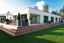 Moderne huse og lejligheder