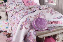 Horse Crazy Girls' Bedroom / girls bedding, horse bedroom, horse comforter, paisley bedding, paisley comforter, horse pillows, horse lamps, boot lamps, girls western bedroom, girls horse comforter, girls pony bedding, pony bedding, pony bedroom, girls pony bedroom