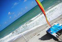 Beachy! | weditorial™ / Beaches, sunrise, sunset, sand and surf, beach wedding ceremony, wedding on the beach, ocean, gulf - (c) ELISAD.com http://www.elisad.com
