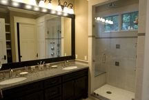Custom Bathrooms / This is a selection of bathrooms that Widing Custom Homes has built over the years for a variety of different homes.