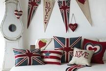 Union Jack Home Decor / by Launa Dreyer