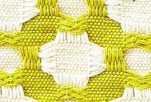 Deflected double weave.