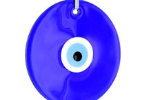 Evil Eyes / The Evil Eye is thought to provide protection against evil forces and negative energy. Handmade by expert craftsmen in Izmir, Turkey.