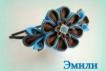 Kanzashi hairband