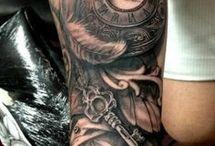 Male tattoo sleeves