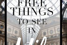 5 Free Things You Must See in Milan / 5 amazing things you must visit if you are staying in Milan #Milan #City #Museum #Monuments