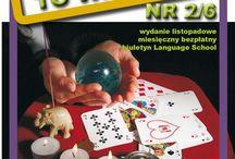 Biuletyn Language School - 'Chciałbyś to wiedzieć' / 'ANDRZEJKI'