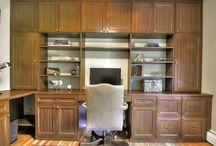 Home Office Custom Built Ins