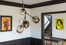 brancing bubble chandelier