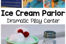 Dramatic Play Centers / Themed set-ups and ideas based around dramatic play centers for toddlers, preschool, and kindergarten age children.
