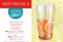 August Steeped Tea Specials / by Steeped Tea Inc