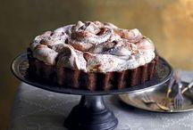 Chocolade merengue taart