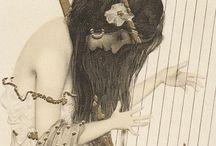 Jugendstil Graphics / Jugendstil, Art Nouveau