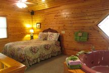 Lifelong Love Cabin / Cabin five minutes from Eureka Springs, AR.  Very secluded, quiet, and set into a wilderness covered in trees and gentle wildlife. / by Hidden Valley Guest Ranch