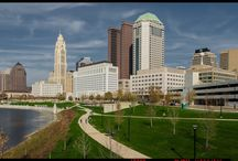 Columbus' New Scioto MIle Park / The new Scioto Mile Park in downtown Columbus Ohio that opened in November 2015
