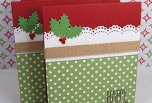 Tarjetas y adornos de Navidad