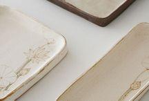 Ceramic: Plates/Trays / by Marjorie Olesen