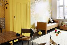 Coloured wardrobes / Happily colourful warbrobes / by Cocoa Jackson