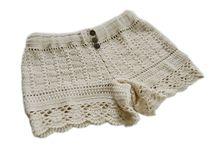 Crochet / Вязаные шорты
